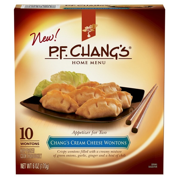 P.F. Changs Cream Cheese Wontons