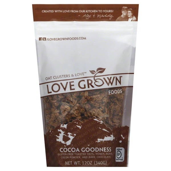 Love Grown Toasted Oats, Cocoa Goodness