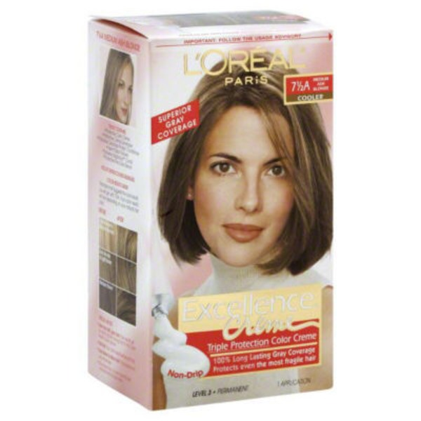 Excellence Creme 7 1/2A Cooler Medium Ash Blonde Hair Color