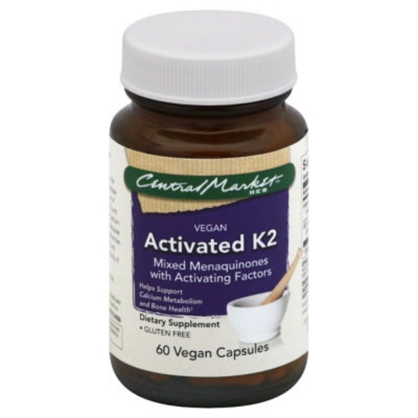 Central Market Activated K2 Vegan Capsules