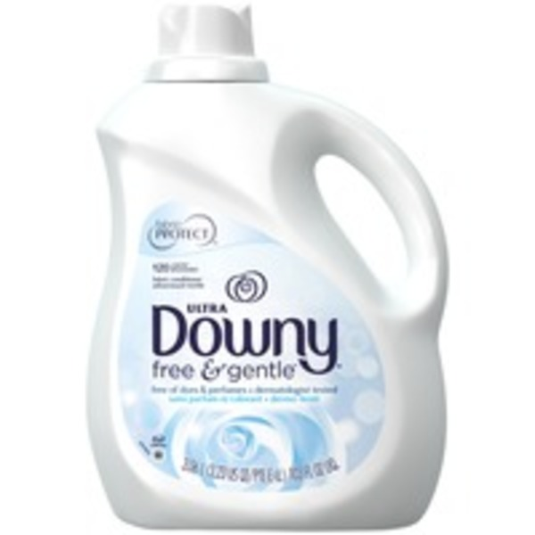 Downy Ultra Downy Free & Gentle Liquid Fabric Conditioner 103 FL oz. Fabric Enhancers