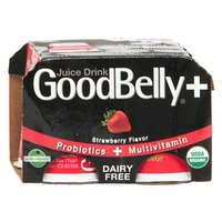 GoodBelly PlusShot Strawberry Probiotic Juice Drink
