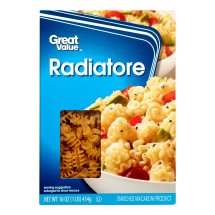 Great Value Radiatore, 16 oz