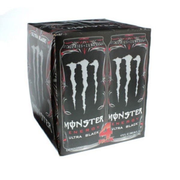 Monster Energy Ultra Black Energy Drink