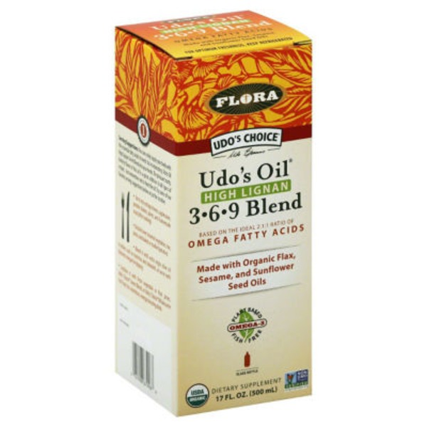 Flora Udo's Oil, High Lignan, 3-6-9 Blend