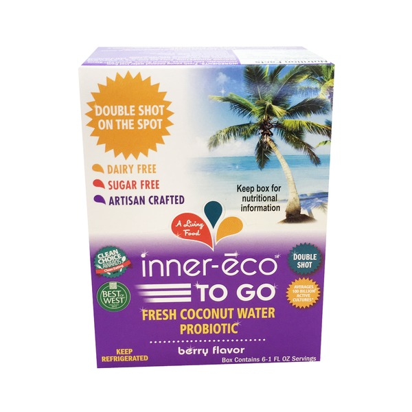 Inner Eco Berry Flavor Coconut Water To Go