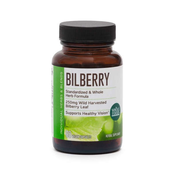 Whole Foods Market Bilberry 250mg