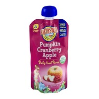 Earth's Best Organic Stage 3 Pumpkin Cranberry Apple Baby Food Puree