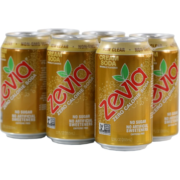 Zevia All Natural Diet Cream Soda