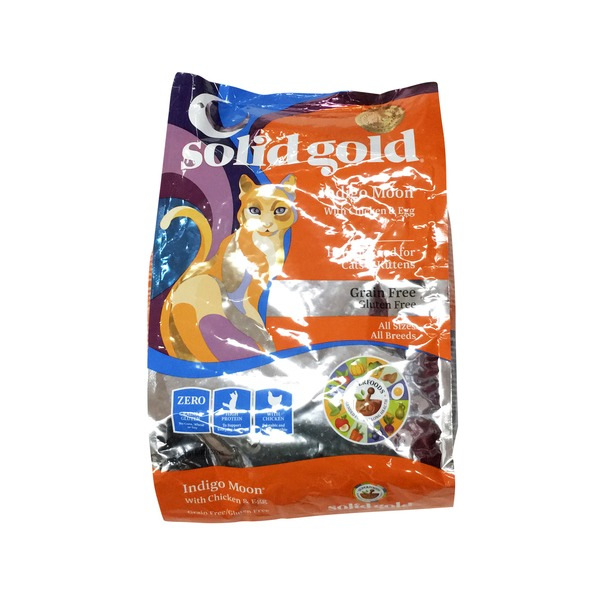 Solid Gold Indigo Moon With Chicken & Eggs Grain Free & Gluten Free Cat Food
