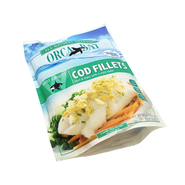 Orca Bay Wild Caught Cod Fillets