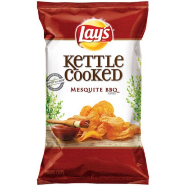 Lay's Kettle Cooked Mesquite BBQ Potato Chips