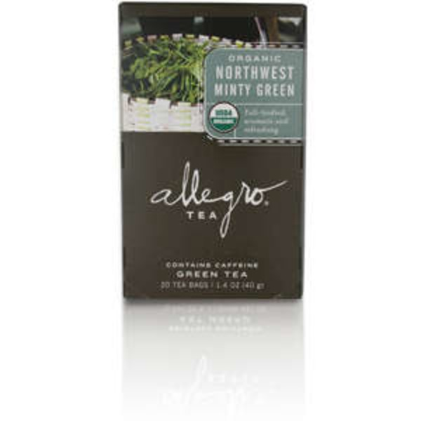 Allegro Organic Northwest Minty Green Tea