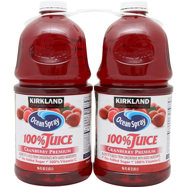 Kirkland Signature 100% Cranberry Juice