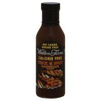 Walden Farms Barbecue Sauce Thick & Spicy Calorie Free