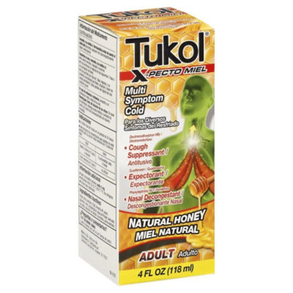 Tukol X-Pecto Miel Multi Symptom Cold Natural Honey Liquid