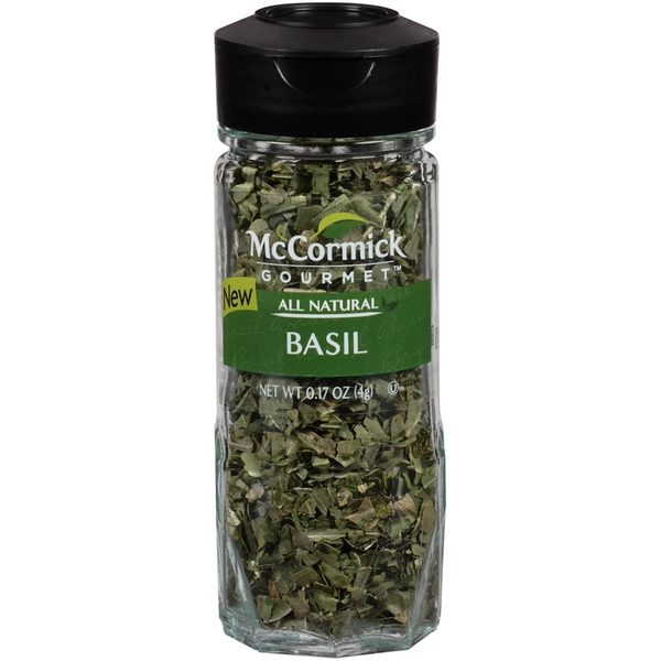 McCormick Gourmet Collection All Natural Basil