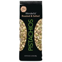 Wonderful Roasted & Salted Pistachios, 24 Oz