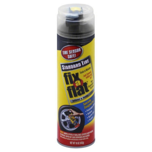 Fix A Flat Standard Tire Inflater & Sealer