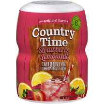 Country Time Drink Mix, Strawberry Lemonade, 18 Oz, 1 Count