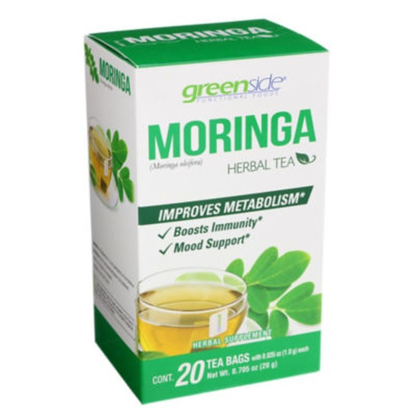 Greenside Moringa Herbal Tea Bags