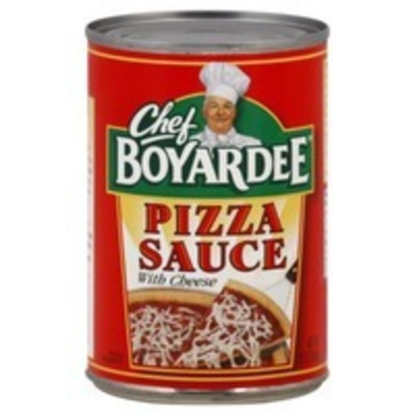 Chef Boyardee Pizza Sauce, with Cheese