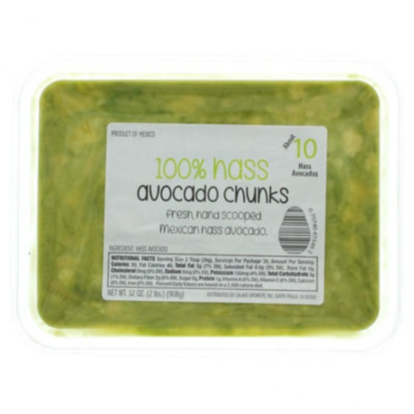 Packer 100% Hass Avocado Chunks