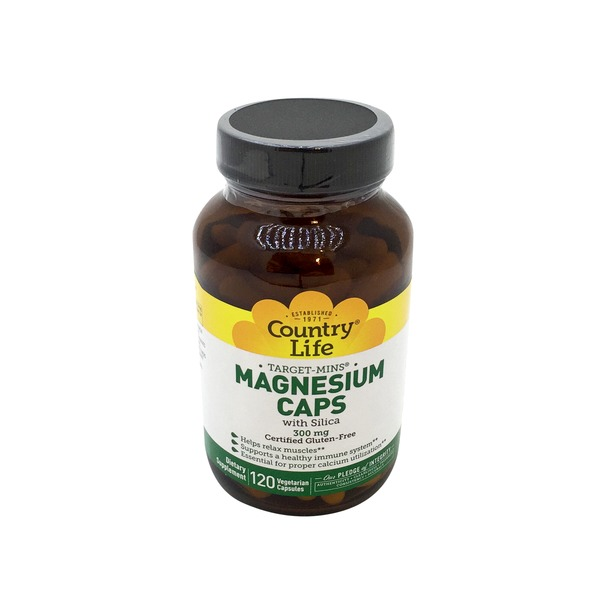 Country Life Magnesium 300 mg with Silica