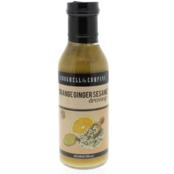 Cookwell & Company Orange Ginger Sesame Dressing