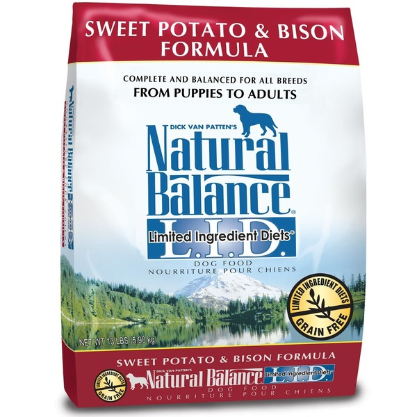 Natural Balance Limited Ingredients Diets Sweet Potato and Bison Formula Dog Food