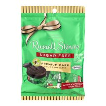 Russell Stover Premium Dark Solid Chocolate Sugar Free, 3.0 OZ