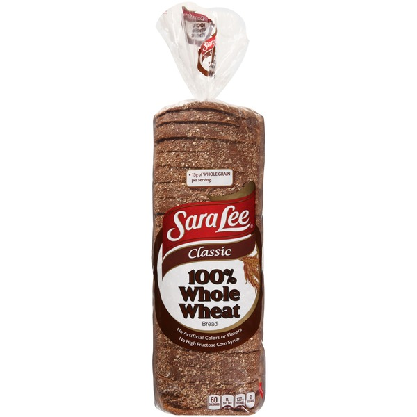 Sara Lee Classic 100% Whole Wheat Bread