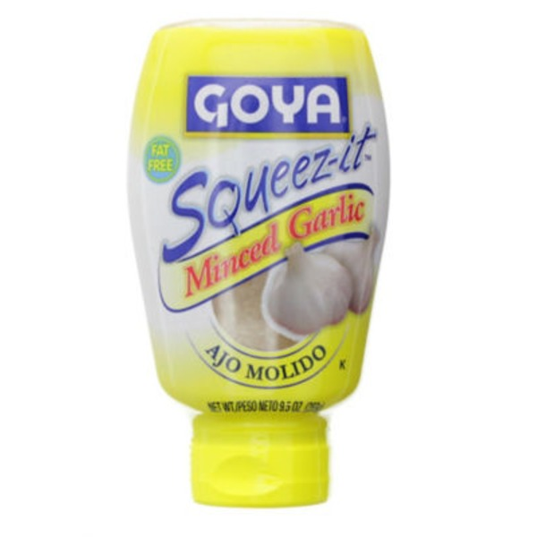 Goya Squeez-it Minced Garlic Squeeze