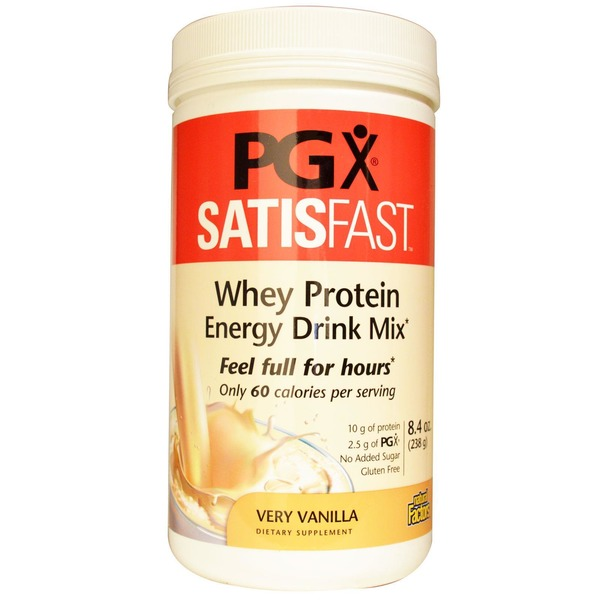 Natural Factors Protein Whey Pgx Satisfast Vanilla