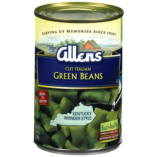 The Allens Cut Italian Kentucky Wonder Style Green Beans