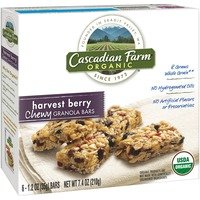 Cascadian Farm Organic Chewy Harvest Berry Granola Bars