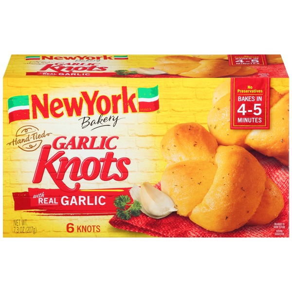 New York Style Hand-Tied Garlic Knots
