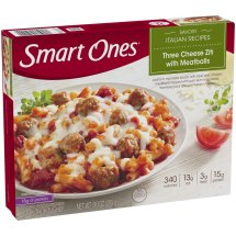 Smart Ones® Savory Italian Recipe Three Cheese Ziti with Meatballs 9 oz. Box