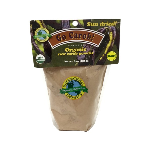 International Harvest Go Carob! Organic Raw Carob Powder
