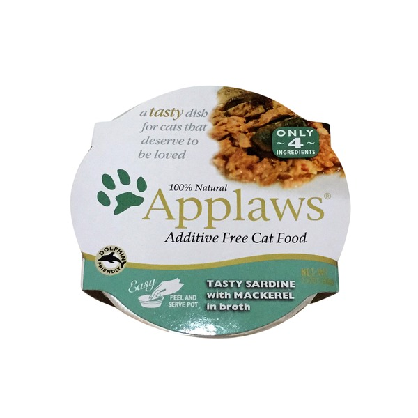 Applaws Tasty Sardine With Mackerel in Broth Cat Food