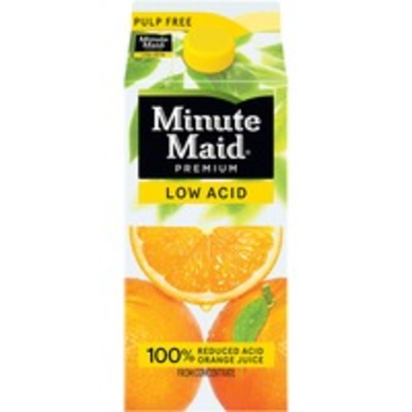 Minute Maid Low Acid Pulp Free Orange Juice