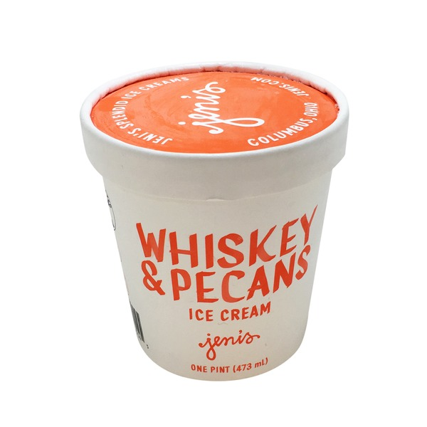 Jenis Co Whiskey & Pecans Ice Cream