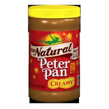 Peter Pan 100% Natural Creamy Peanut Butter Spread, 16.3 Ounce