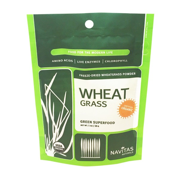 Navitas Naturals Organic Freeze-Dried Wheatgrass Powder