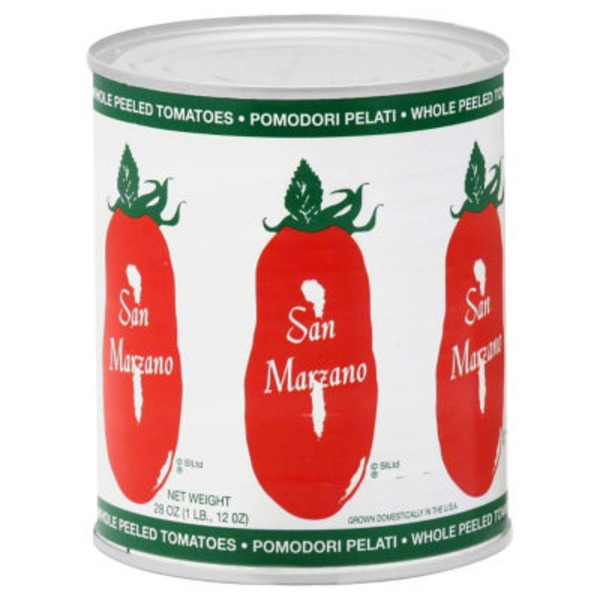 San Marzano Tomatoes, Whole Peeled