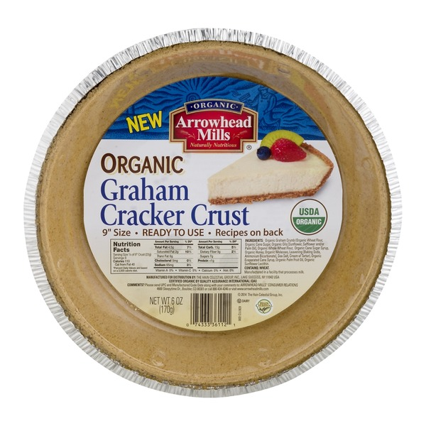Arrowhead Mills Organic Graham Cracker Crust