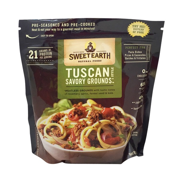 Sweet Earth Natural Foods Tuscan Style Savory Grounds