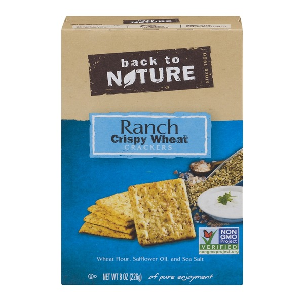Back to Nature Wheat Ranch Crispy Cracker