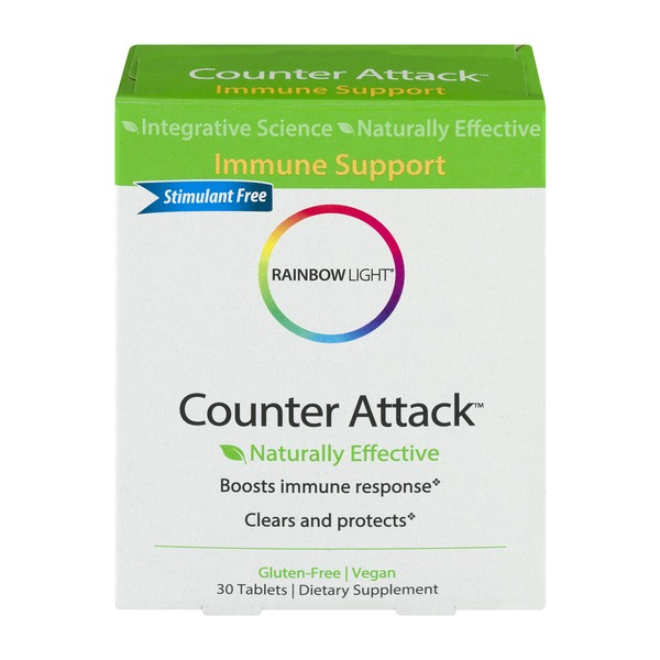 Rainbow Light Counter Attack Dietary Supplement Tablets - 30 CT