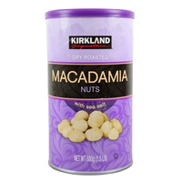 Kirkland Signature Dry Roasted Macadamias with Sea Salt